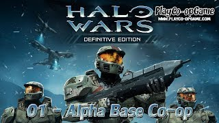 Halo Wars: Definitive Edition [PC/Steam] - (2-players) 01 - Alpha Base Co-op Gameplay