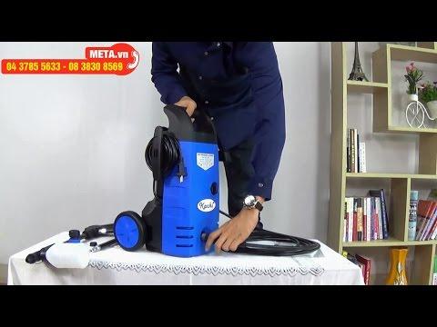 META.vn - Cách lắp đặt máy phun xịt rửa cao áp Kachi 1400W