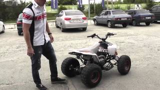 Обзор квадроцикла Comman EGL Raptor 125cc