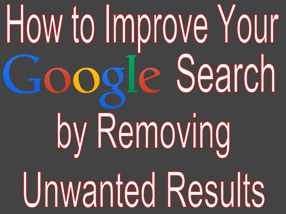 how to ask google to remove search result