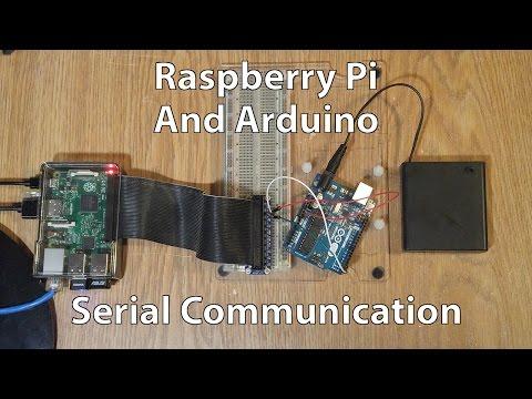 Uart communication between arduino and raspberry pi 3