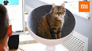 XIAOMI ЦАРСКИЙ ТРОН для КОШКИ BOSS CAT BED. Поворотная кровать для кошки