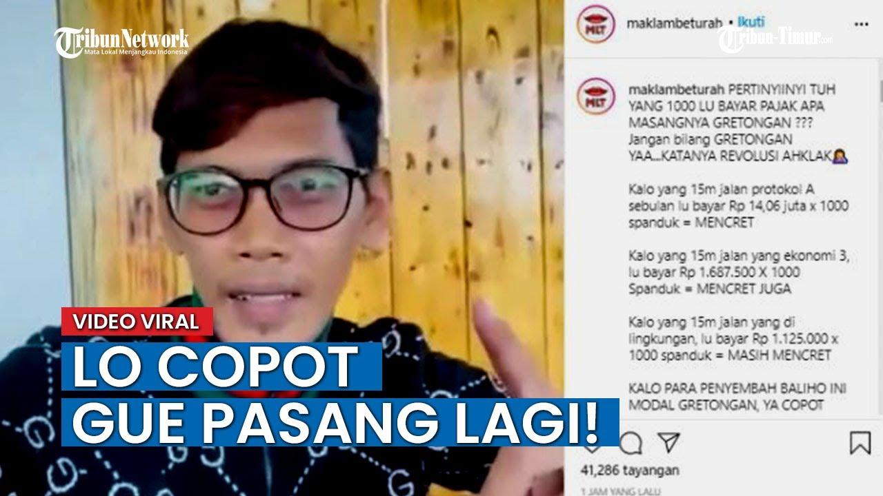 Download VIRAL Video Pria Lawan Aksi TNI Copot Baliho Rizieq Shihab: Lo Copot Gue Pasang Lagi!