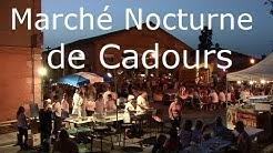 Marché nocturne de Cadours