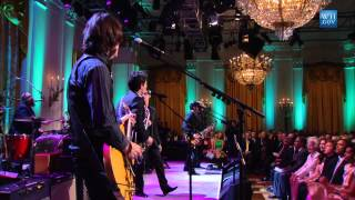 "The Jonas Brothers perform ""Drive My Car"" at the Gershwin Prize for Paul McCartney"