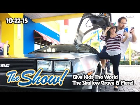 Attractions - The Show - Haunted Houses; Back to the Future; Give Kids The World - Oct. 22, 2015
