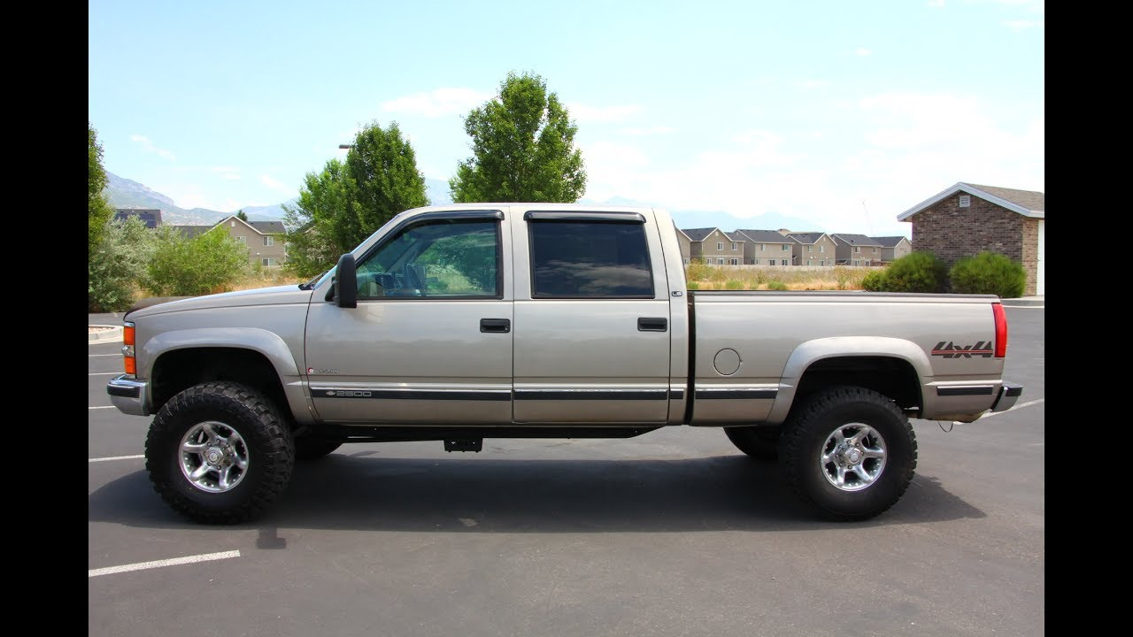 1999 Chevy Silverado 2500hd 4x4 Centurion 5 7l Vortec V8 New Tires Lift Autos Inc Youtube