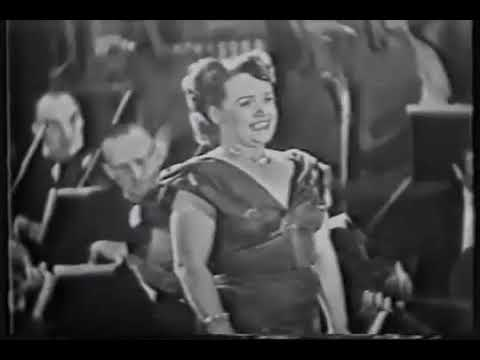 ELEANOR STEBER SINGS -  ITALIAN STREET SONG 1953 FIRESTONE KI