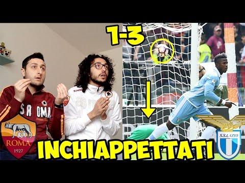 INCHIAPPETTATI MALE | ROMA-LAZIO 1-3 | LIVE REACTION