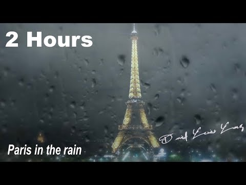 French Music In French Cafe: Paris In The Rain FULL ALBUM (Modern French Cafe Music Playlist)