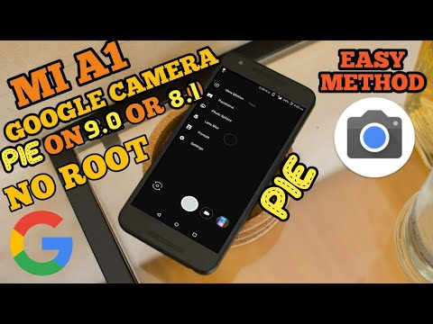 how to install gcam in mi a1 without root in Android pie 9 0 or oreo