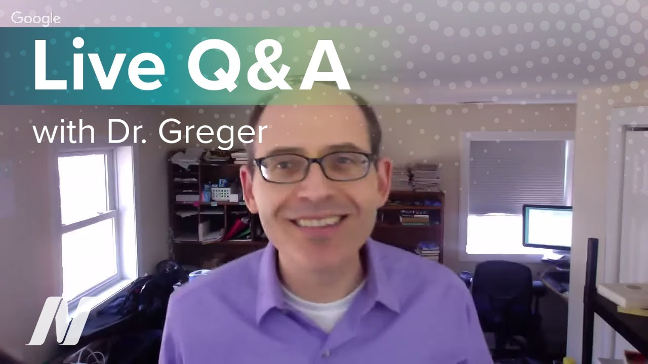 Live Q&A with Dr. Greger of NutritionFacts.org on February 24 at 1:00p ET