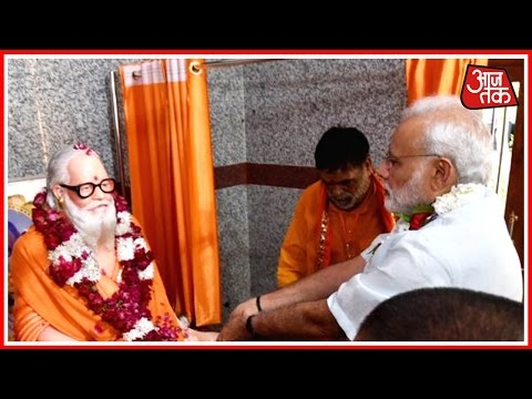 PM Modi Reaches Goraknath Temple In Gorakhpur, UP