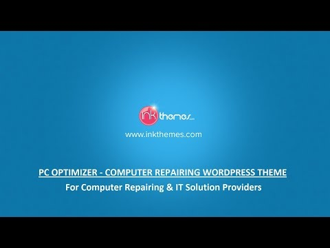 Computer Repairing WordPress Theme