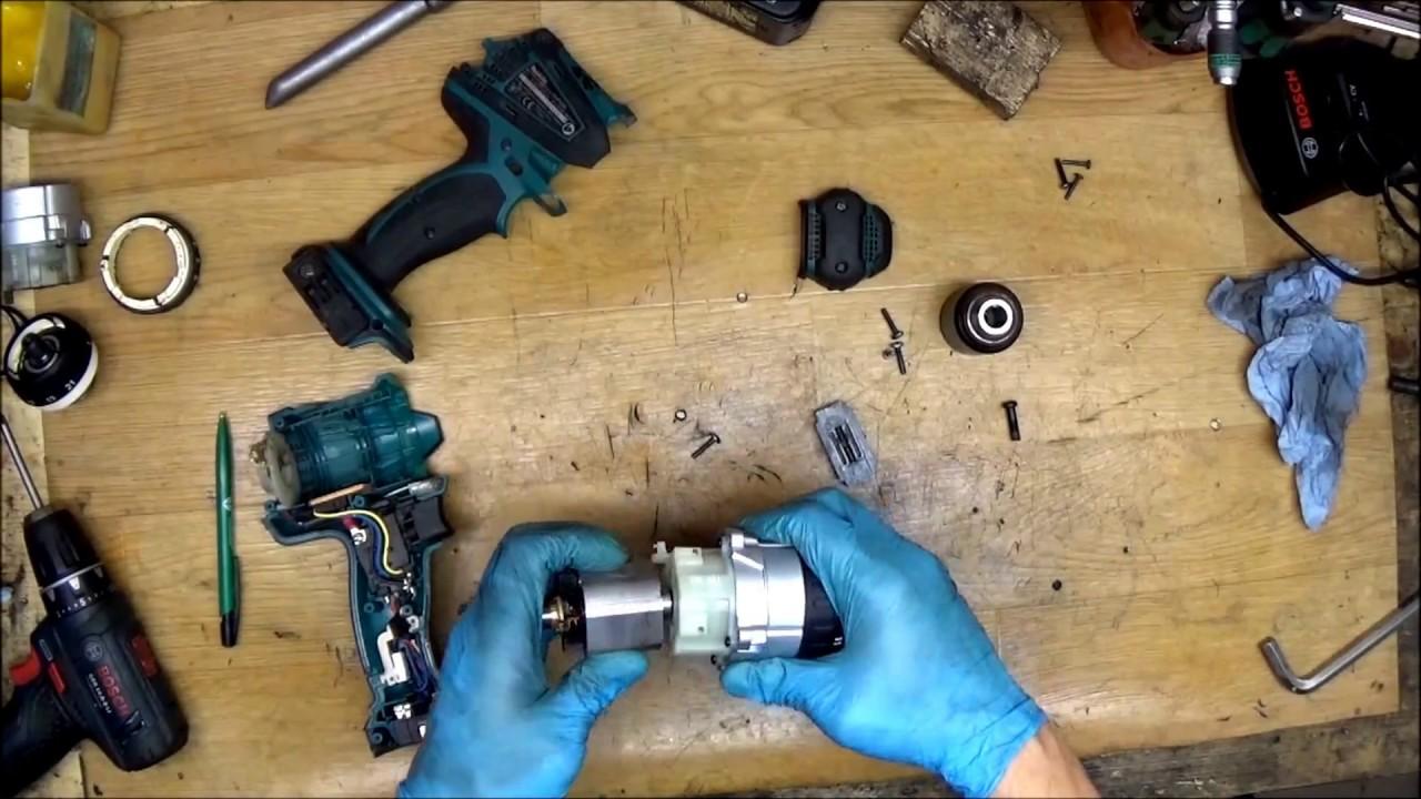 #5 Video Assembling 4 Th  tool Makita DHP458 cordless drill
