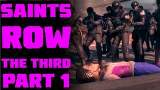 Saints Row: The Third - When Good Heists Go Bad - Part 1