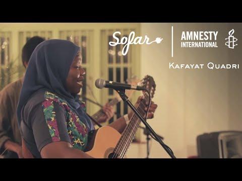 Kafayat Quadri - Religion Says | Sofar Bangalore - GIVE A HOME 2017
