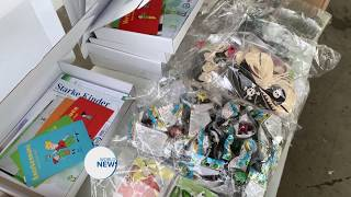 An Nusrat Organisation in Germany distribute family boxes