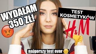 SZCZERA recenzja kosmetyków H&M // niestety WYDAŁAM 360 zł...