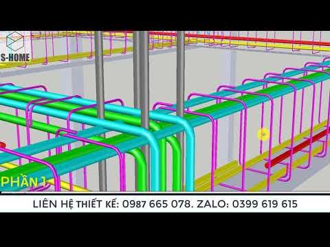 Tăng cường thép dầm đúng Kĩ thuật . P1/Reinforcement detailing of beam.