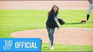 """수지(Suzy) """"2017 KBO 한국 시리즈 4차전"""" 시구 비하인드"""