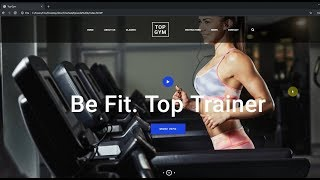 How to Build a Fitness Web Page from Scratch! HTML5, CSS3, JavaScript Tutorial!