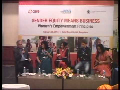Gender Equity Means Business : Women's Empowerment Principles, Bangalore - 28th February 2014