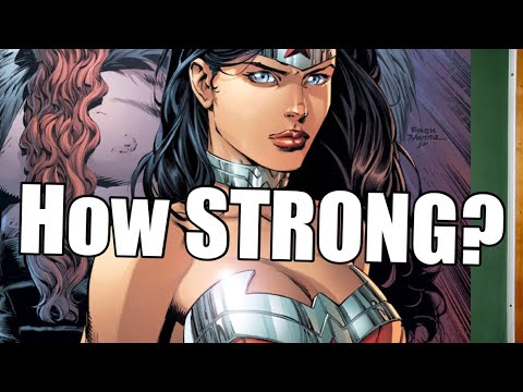 How Strong is WONDER WOMAN ( NEW 52 ) | DC Comics ~ Stronger Than You think??!!