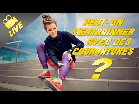 Est-il dangereux de s'entraîner en musculation sur des courbatures?