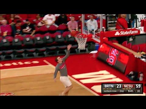 Lay-Up Musical Chairs - NCSU Basketball vs Barton College