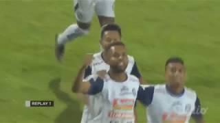 Highlights Perseru Serui vs Arema FC [0-1] Gojek Liga 1 Bersama Bukalapak