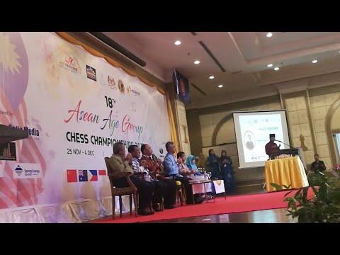 Majlis Perasmian 18th ASEAN Age Group Chess Championship 2017