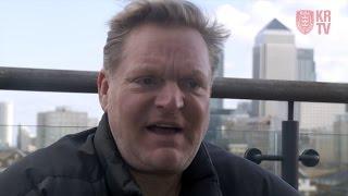 Erasure's Andy Bell speaks to Hull KR TV