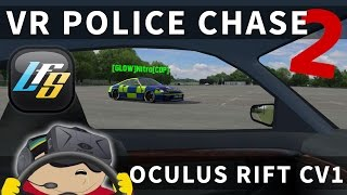 Virtual Reality Police Chase with Oculus Rift CV1  - Live for Speed [T300RS]