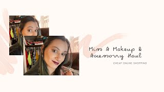 MISS A Haul // GRWM Full Face of Miss A // October 2020
