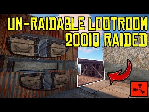 We RAIDED An 'Un-Raidable' Loot Room Using 200IQ! - RUST thumbnail