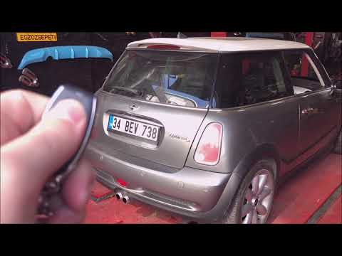 Mini Cooper Esa Garage Dizel Ve Benzinli Kumandalı Varex Cutout