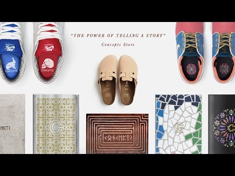 The Power of Telling a Story: Concepts Store