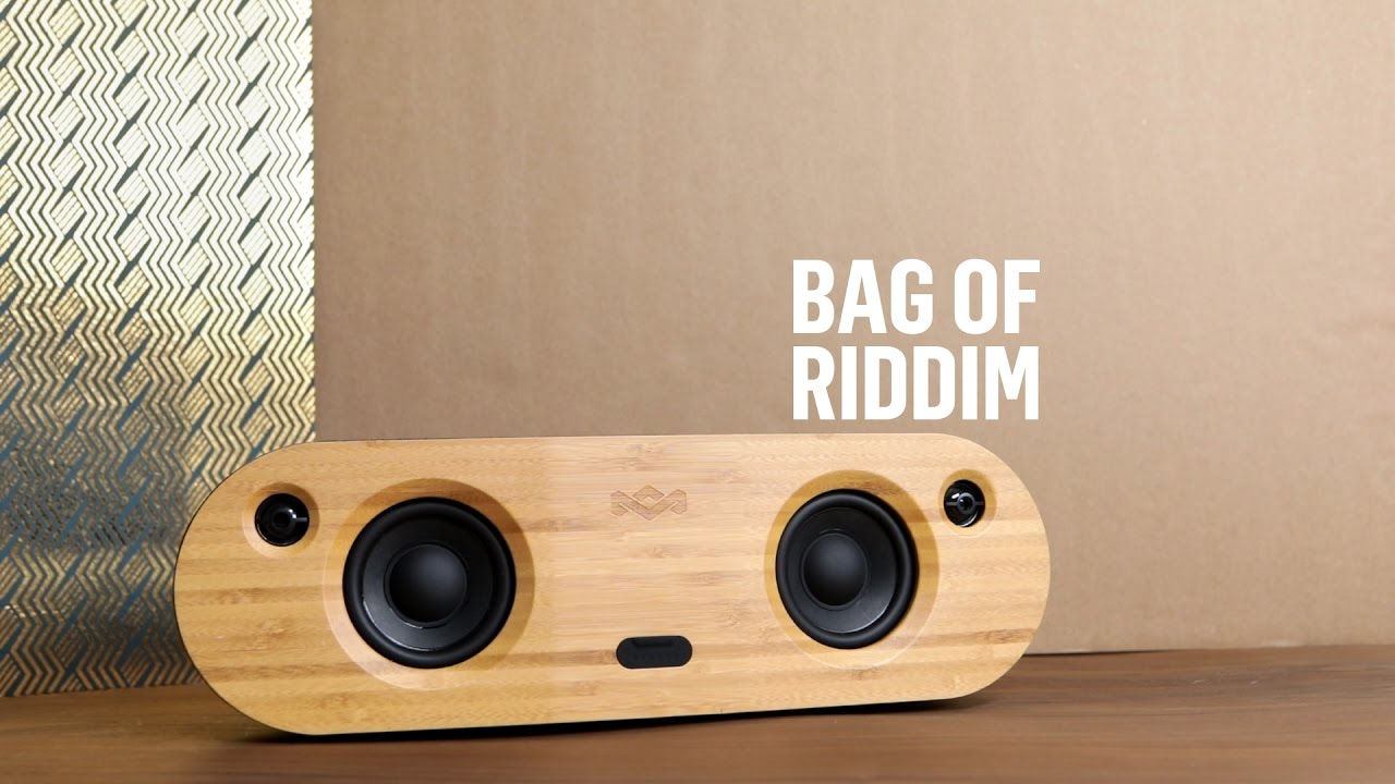 House of Marley | Bag of Riddim 2 | Portable Bluetooth Speaker