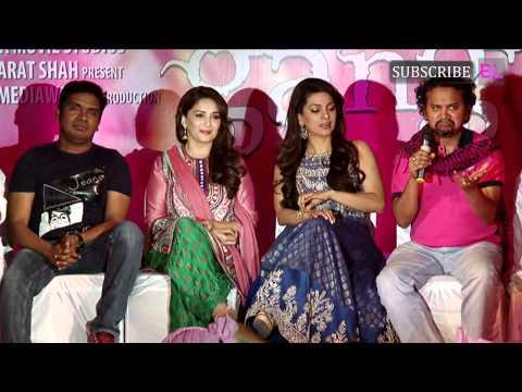 Dheemi dheemi song launch from movie Gulaab Gang | Madhuri Dixit, Juhi Chawla
