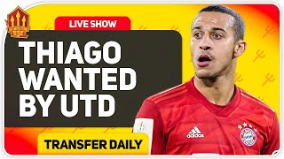 Thiago Transfer Battle With Liverpool! Man Utd Transfer News