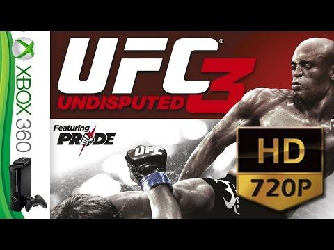 UFC Undisputed 3 - Singleplayer PT BR - XBOX 360 - HD 720P @ 50 FPS