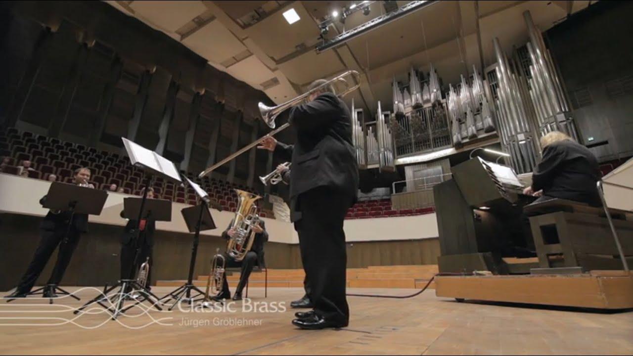 Classic Brass Jürgen Gröblehner & Matthias Eisenberg - Nun danket alle Gott