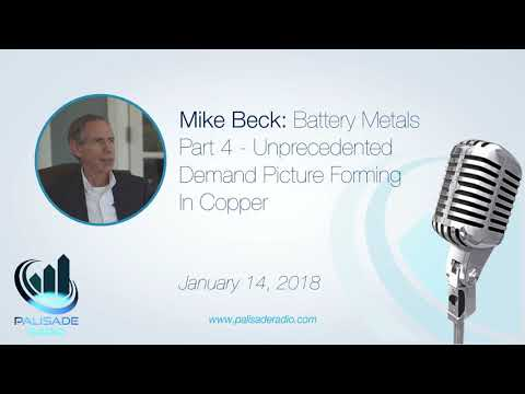 Mike Beck: Battery Metals Part 4 -  Unprecedented Demand Picture Forming in Copper