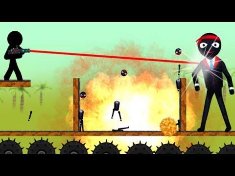 Stickman Destruction Warrior 2 |  Stickman Shooting - Android GamePlay 2018 NEw Game Ep2