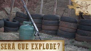 Calibre 12 X Botijão de gás CHEIO: Quem ganha? - Covil do Lobo Ep.14