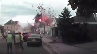 Dash Cam Video shows Sun Prairie Explosion