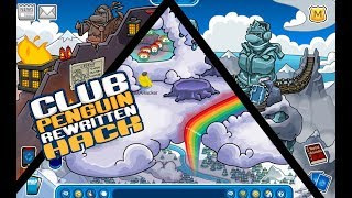 Secret Rooms Hack | Club Penguin Rewritten | September 2017