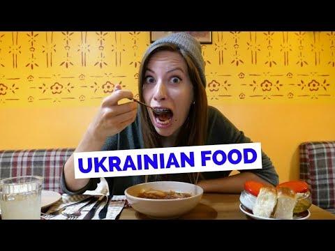Ukrainian Food Taste Test - 5 Dishes to Eat in Kiev, Ukraine