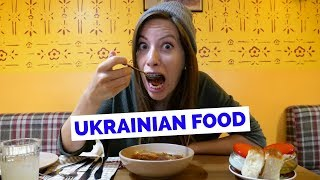 Ukrainian Food Taste Test - 5 Dishes to Eat in Kiev, Ukraine